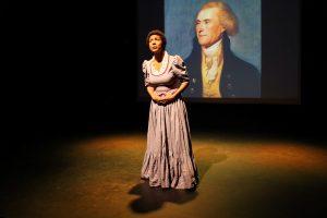 Sally with Jefferson